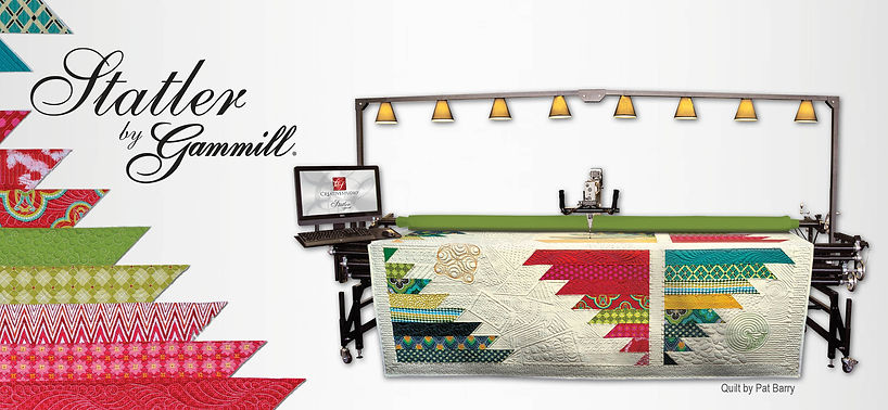 Statler by Gammill; State-of-the-art computerized quilting system