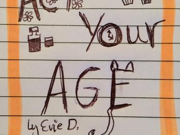 Sneak peak at Act Your Age Blurb