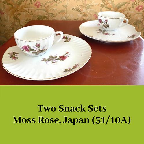 Moss Rose Snack Set