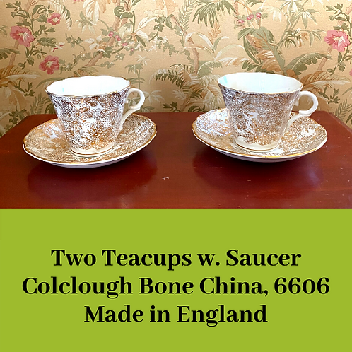 Colclough Teacup Set