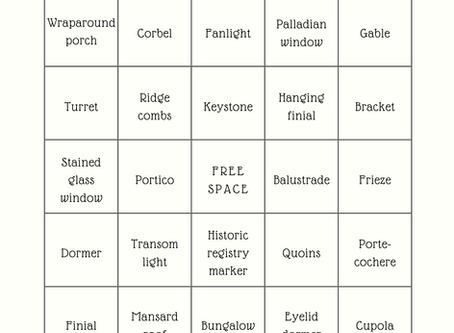 Bingo! With Historic Architecture