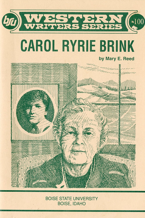 Western Writers Series: Carol Ryrie Brink