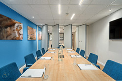 Conference Room with partition.
