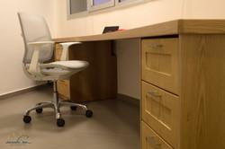 custom rounded desk