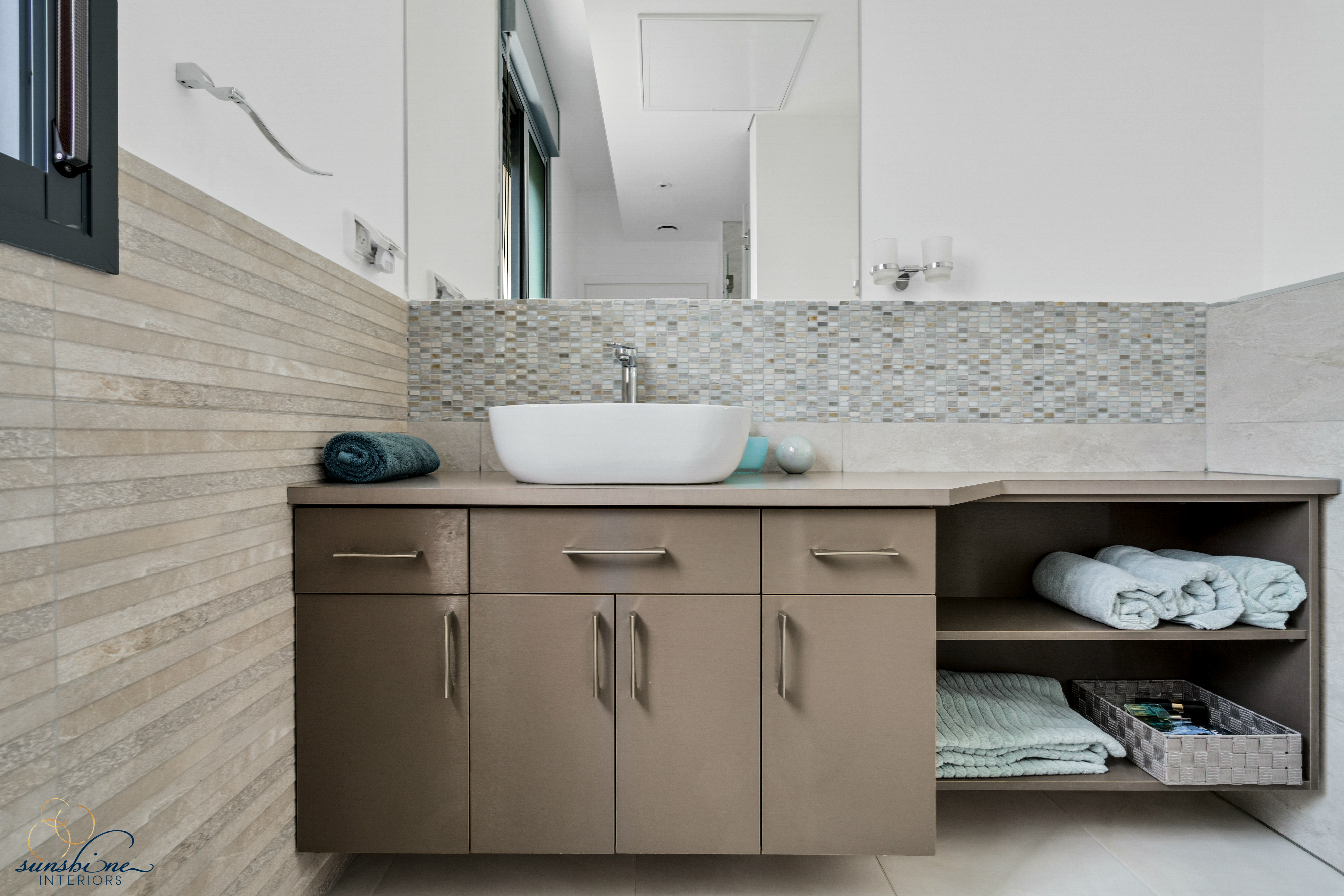 master bathroom, cabinet, sunshine