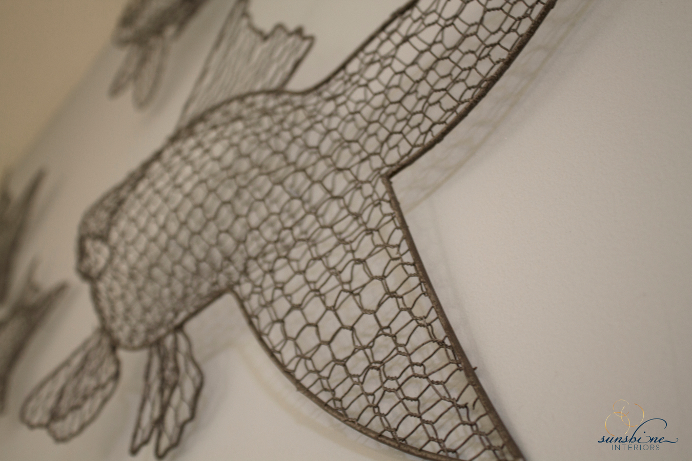 detail wire fish