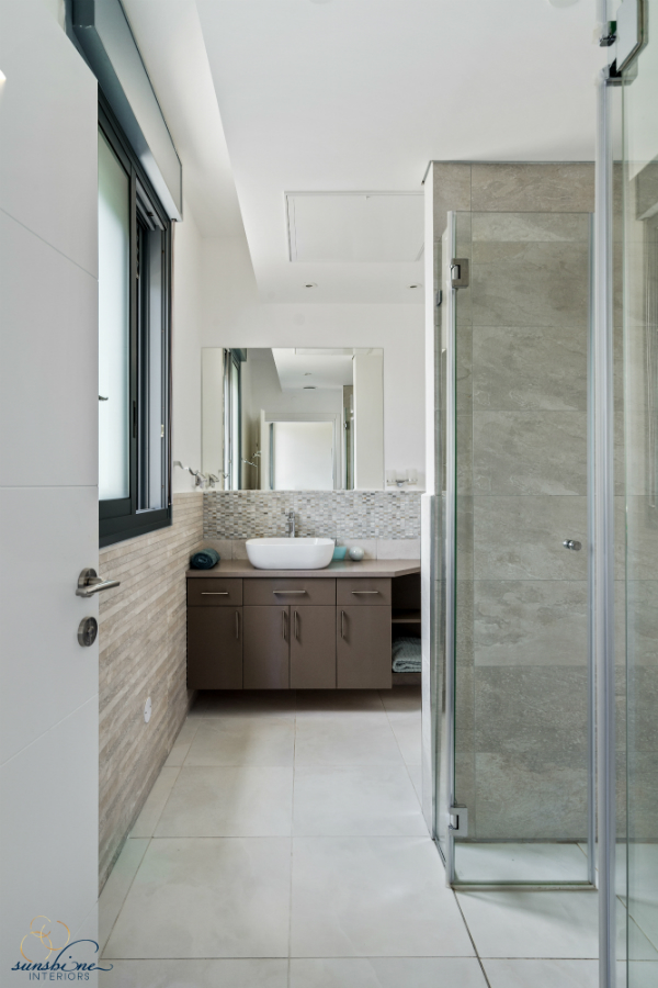 master bathroom, sunshine