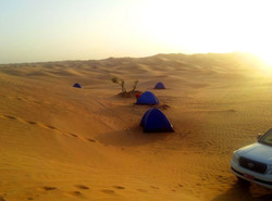 Camping trip Rub Al Khali desert