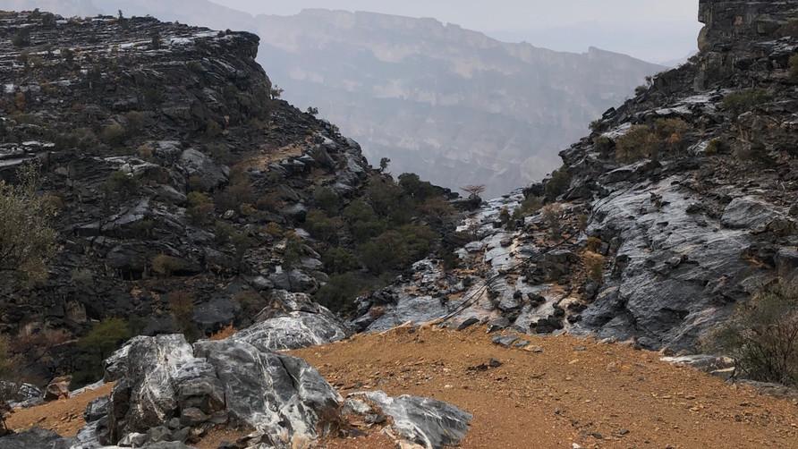 Regentage sind gute Tage im Oman