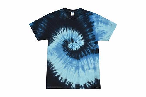 Ocean Blue Tie Dye Tshirt