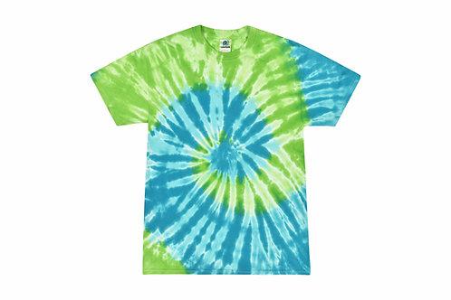 Apple Tie Dye Tshirt