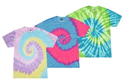 Bandel #2 -   3 Tie Dye Tshirt (All Same Size)