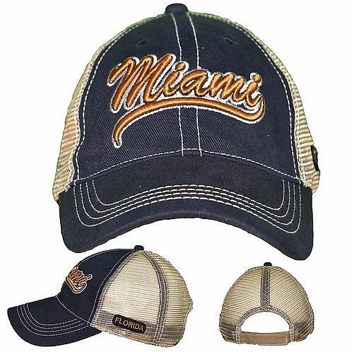 Miami Navy #86 Baseball Hat