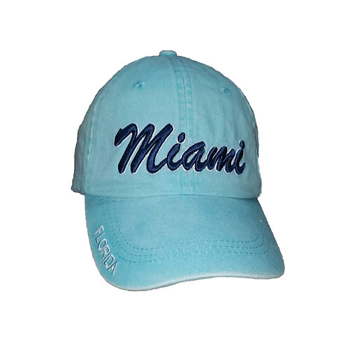 Miami Celadon #80 Baseball Hat