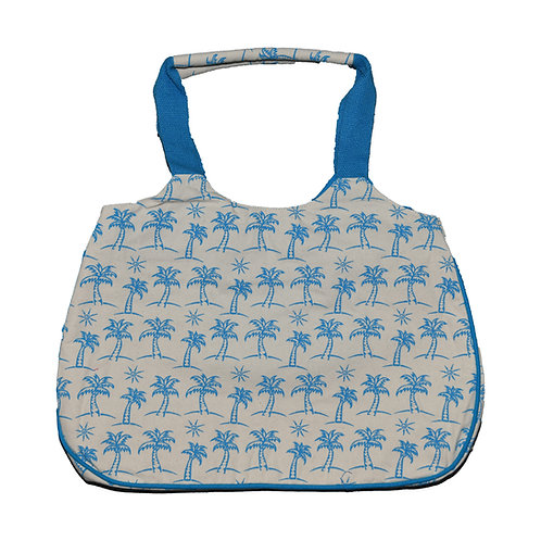 Turqouise Palms Bag #1525