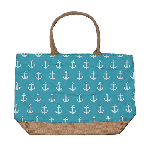 Turqouise Anchor Bag #1570