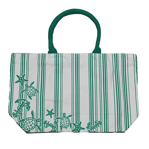 Teal Icons Bag #1540