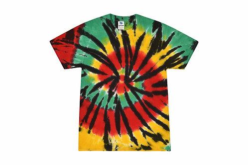 Jamaica Tie Dye Tshirt