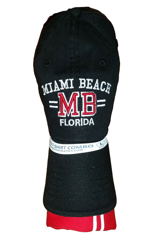 Combo Black - Heather Red  Miami Beach #48