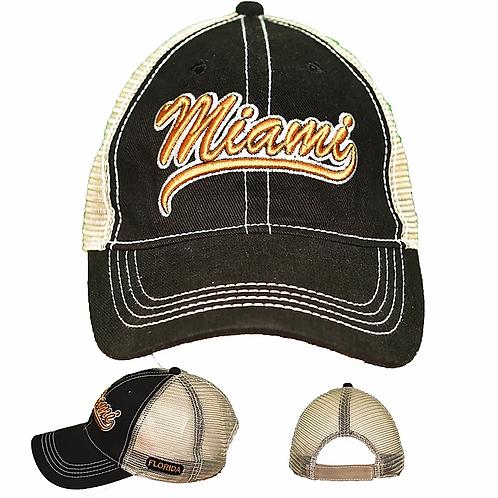 Miami Black #86 Baseball Hat