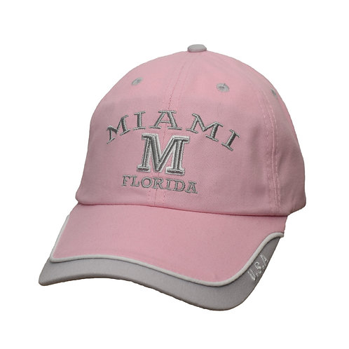 Miami Pink #99 Baseball Hat Miami
