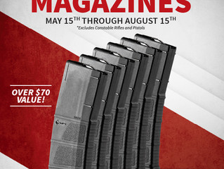 Get 6 Free Magazines with POF Rifle Purchase!