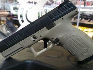 CZ's Newest Handgun:  P-10 Compact!
