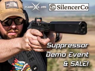 SilencerCo Suppressor Demo and Sale Event