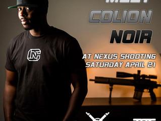Meet Colion Noir at Nexus!