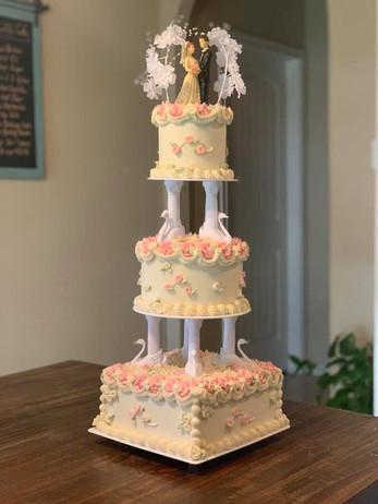 Vintage Wedding Cake Tin Roof.jpg