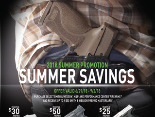 Up to $50 Back on Smith & Wesson Guns