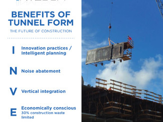 Benefit Of Tunnel Form: The Future of Construction.