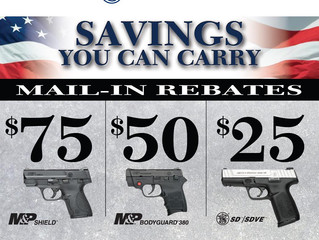Smith & Wesson Concealed Carry Guns Rebate
