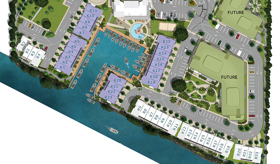 Koi Residences and Marina 4 Story Villas