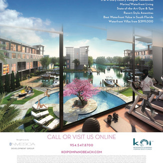 Fresh Off The Press: Live The Koi LifeStyle. Grab your August Las Olas & Pinecrest Edition of Li