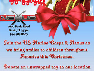 Join Nexus and the US Marines in Helping Deserving Children this Holiday Season!