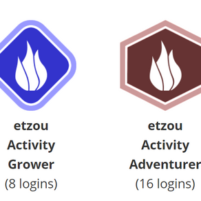 How to use badges and the benefit of badges in elearning with etzouelearning.com?