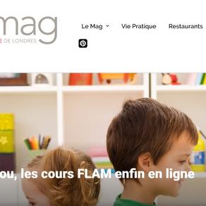 """""""French fun et facile: Et Zou, les cours FLAM enfin en ligne - EtZou au service des familles"""""""