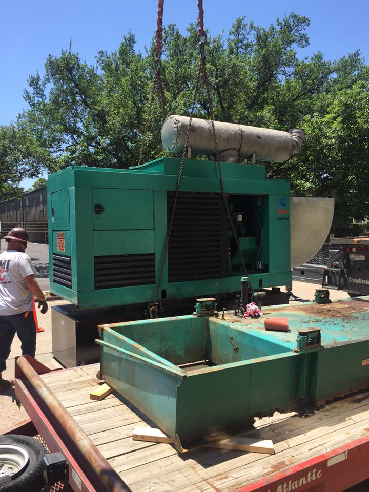 Diesel Generator Day Tank Change-Out