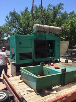 Diesel Generator Day Tank Change-Out