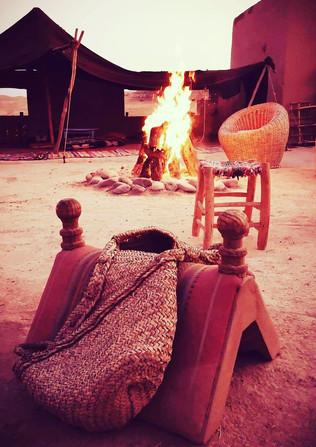 Dans le désert d'Agafay