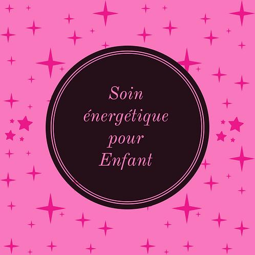 Soin énergétique pour enfant