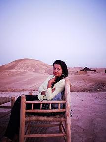 Dans le desert d'Agafay