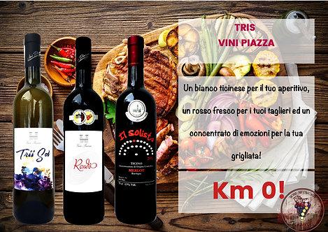 Tris Vini Piazza
