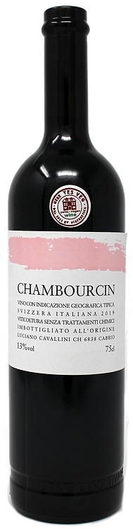IGT Svizzera Italiana Chambourcin - Swiss Vegan Wine - 2019 - Cantina Cavallini