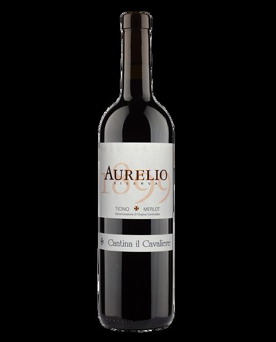"""Ticino DOC Merlot """"Aurelio 1899"""" Riserva 2016 - Cantina Il Cavaliere"""
