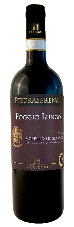 """Morellino di Scansano DOCG """"Poggio Lungo"""" 2015 - Arrigoni"""