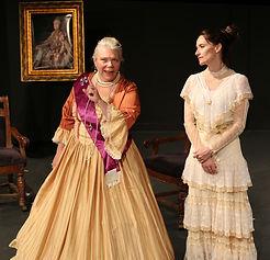 An Untimley Likeness| 2018 365 Women Festival, Rover Dramawerks, Plano, TX. Mar 2018.  | Deborah Clark as Catherine, Melanie Doyle as Vigee-Le Brun
