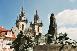 Charles Square, Prague, Czech Rep.