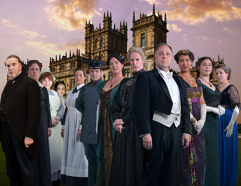 UPSIDE-DOWNTON ABBEY | 2013